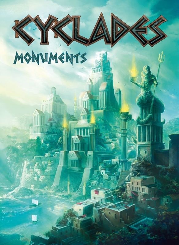 Cyclades: Monuments - Expansion Set