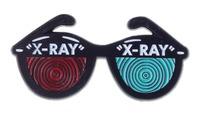 Sourpuss: Kustom Kreeps - X-Ray Specs Enamel Pin