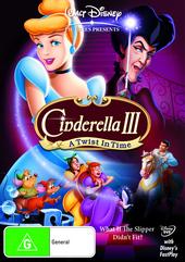 Cinderella III - A Twist In Time (2007) on DVD