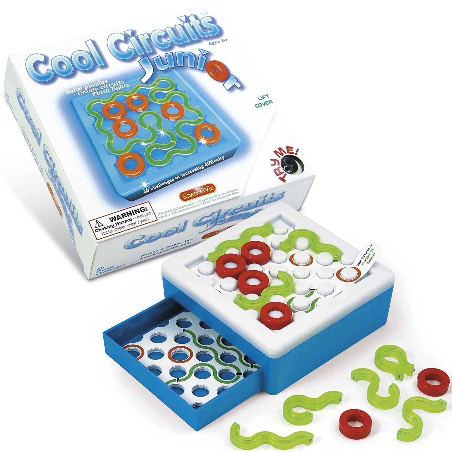 Cool Circuits Junior Edition Toy At Mighty Ape Nz Electronic Circuit Jr Image