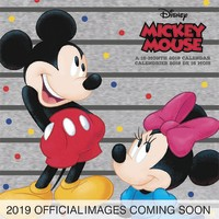 Mickey Mouse 90th Anniversary 2019 Square Wall Calendar