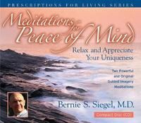 Meditations for Peace of Mind by Bernie S. Siegel image