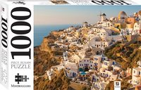 Hinkler: 1000 Piece Jigsaw Puzzle - Santorini, the Greek Islands
