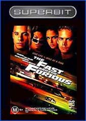 The Superbit - Fast And The Furious on DVD