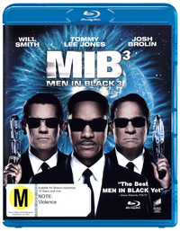 Men in Black III on Blu-ray