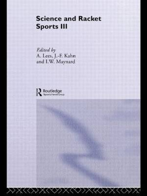 Science and Racket Sports III
