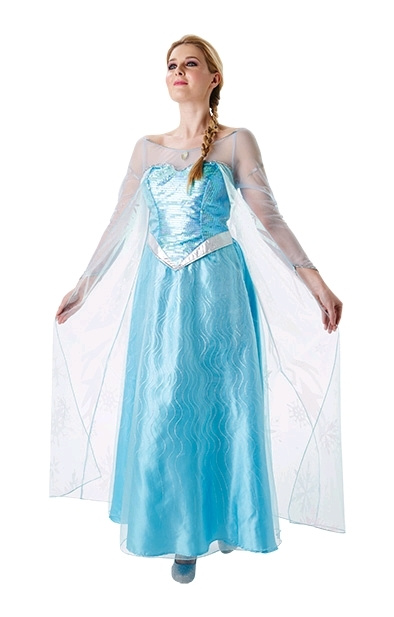 Disney Frozen: Adult Elsa Costume (Medium)