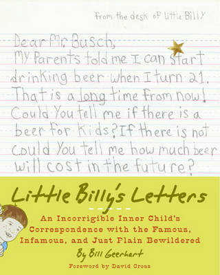 Little Billy's Letters by William D. Geerhart image