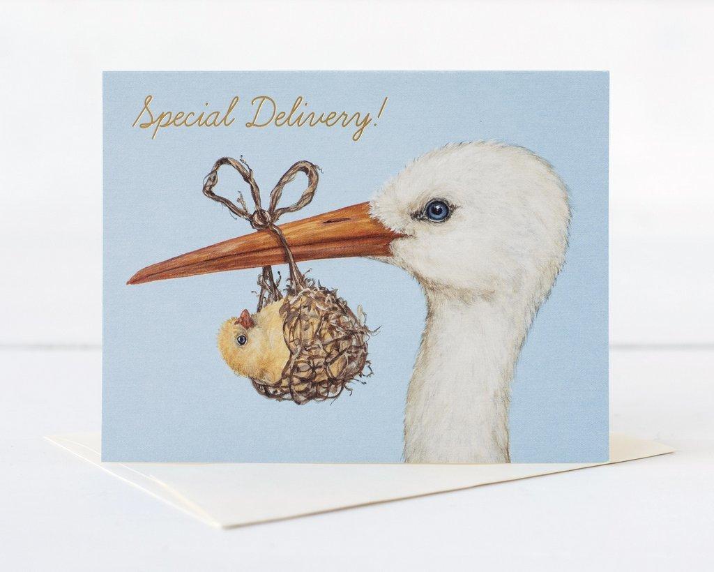 Hester & Cook: Bundle Of Joy Gold Foil - Greeting Card image
