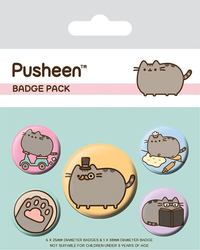 Pusheen: Pin Badge Set - Fancy