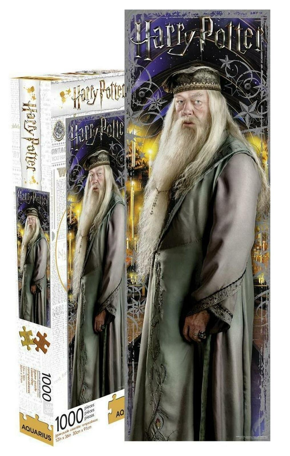Harry Potter: 1,000 Piece Slim Puzzle - Professor Dumbledore image