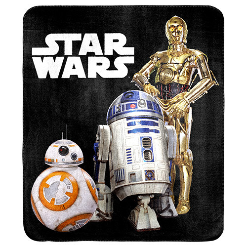 Star Wars C3Po R2D2 And Bb8 Throw