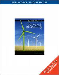 Survey of Accounting by Carl Warren image
