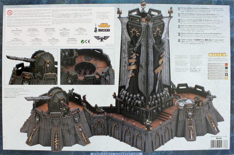 Warhammer 40 000 Fortress Of Redemption Model Kit At