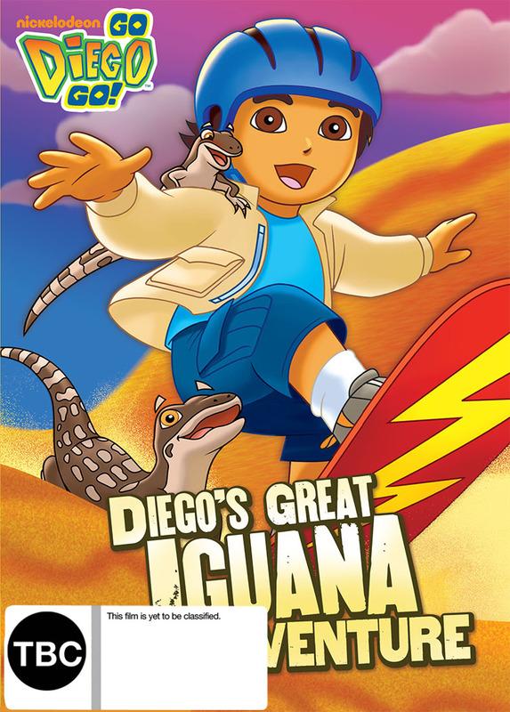 Go Diego Go! Diego's Great Iguana Adventure on DVD