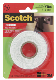 3M Scotch 110p Foam Indoor Mounting Tape