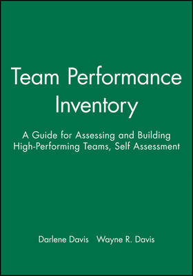 Team Performance Inventory by Darlene Davis