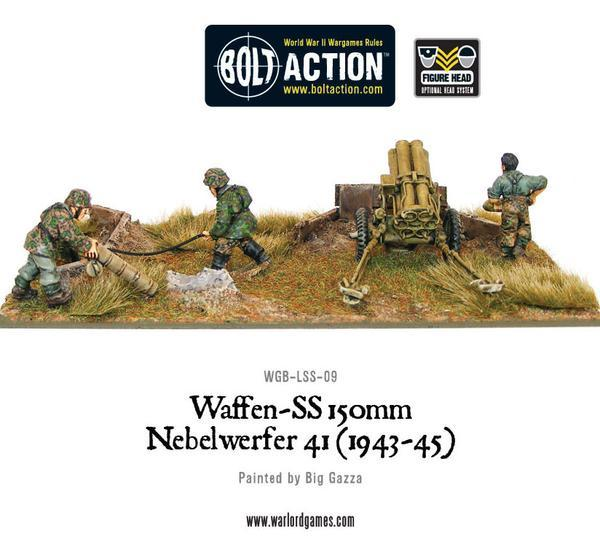 German Waffen-SS 150mm Nebelwerfer 41