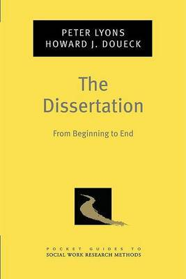 The Dissertation by Peter Lyons