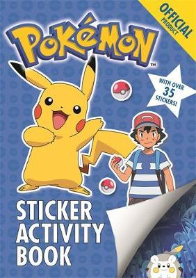 The Official Pokemon Sticker Activity Book by Pokemon image