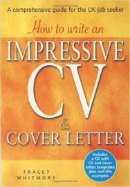 How to Write an Impressive CV and Cover Letter by Tracey Whitmore image