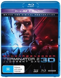Terminator 2: Judgement Day 3D on Blu-ray, 3D Blu-ray