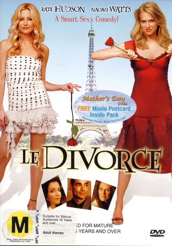 Le Divorce on DVD image