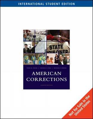 American Corrections by Todd R Clear