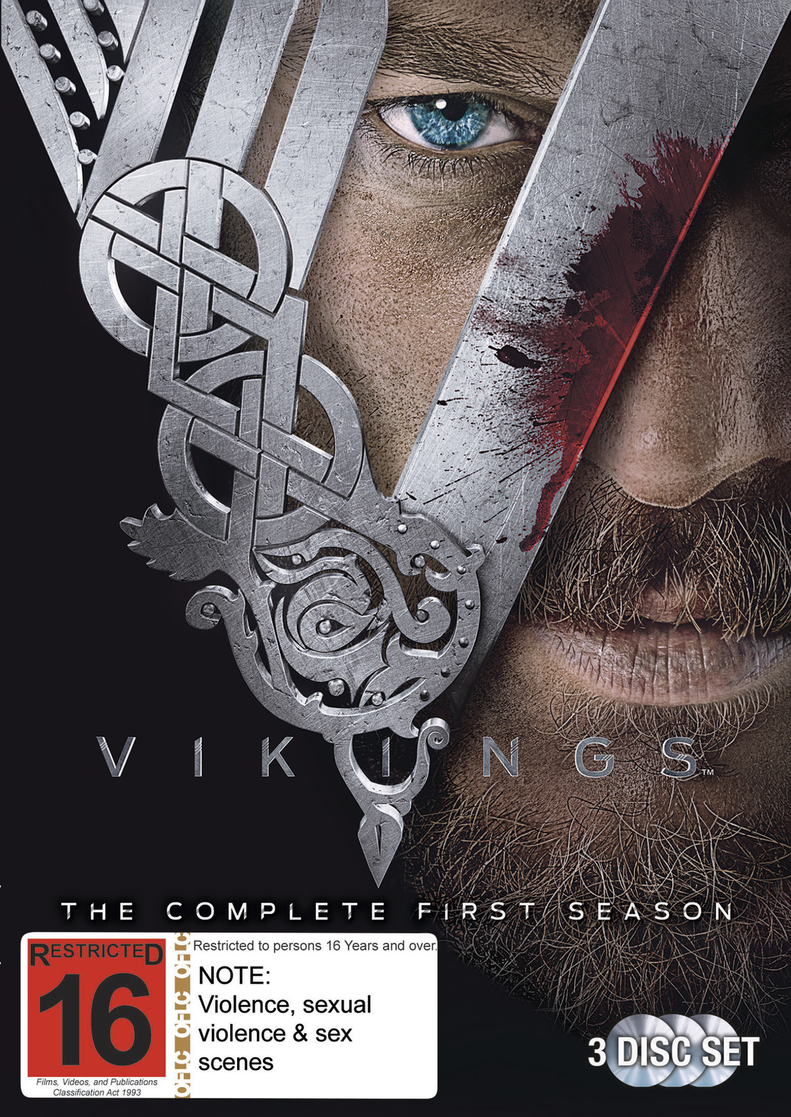 Vikings - The Complete First Season on DVD image