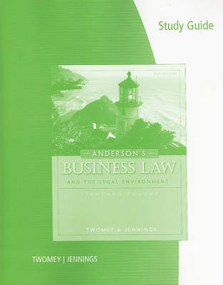 Anderson's Business Law and the Legal Environment by TWOMEY