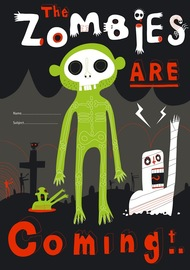 Spencil: 1B5 Book Cover - Zombies
