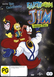 Earthworm Jim (Season 2) on DVD