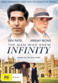 The Man Who Knew Infinity on DVD