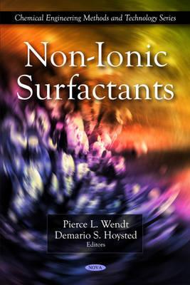 Non-Ionic Surfactants