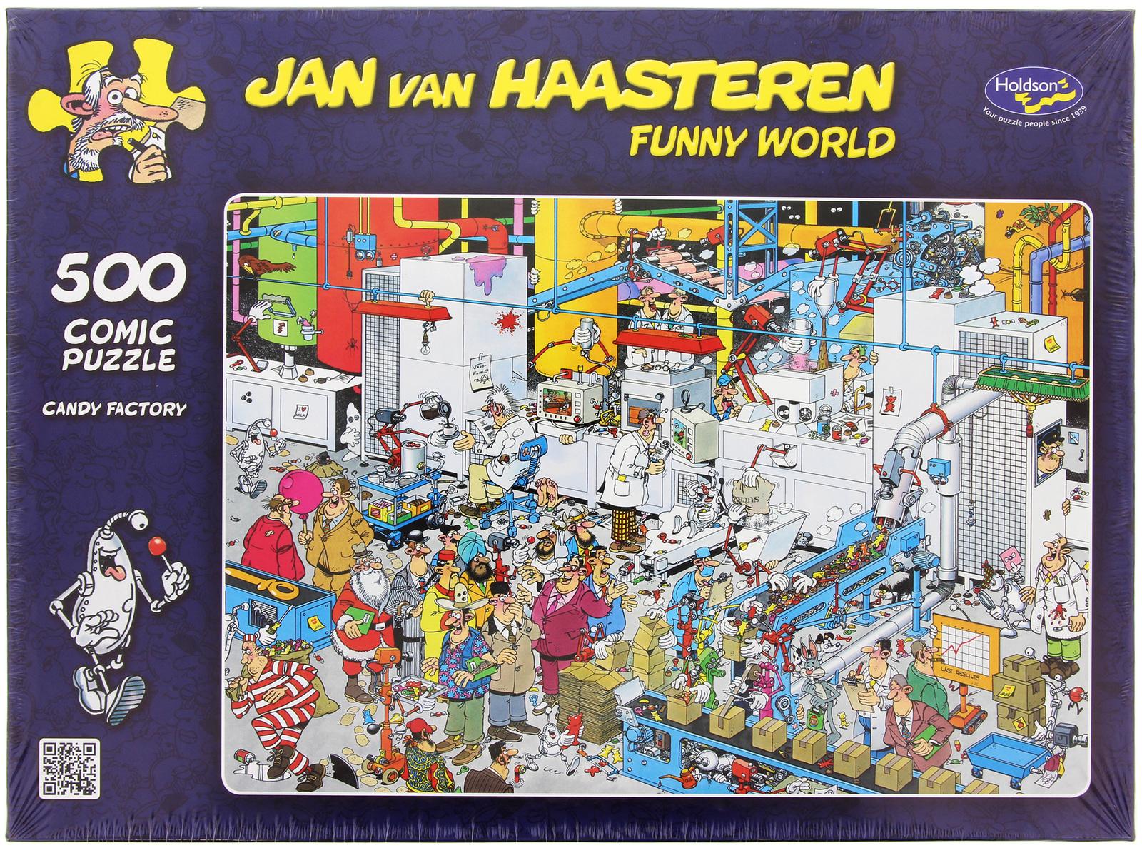 Van Haasteren: 500pc Candy Factory Puzzle image