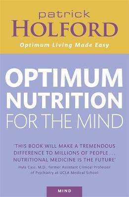 Patrick Holford's New Optimum Nutrition for the Mind by Patrick Holford image