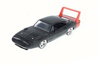 Jada: 1/24 Dodge Charger Ht Diecast Model (Black & Red) image