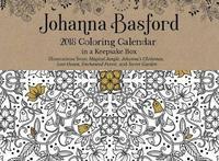 Johanna Basford 2018 Coloring Day-To-Day Calendar by Johanna Basford