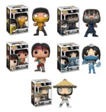 Mortal Kombat - Pop! Vinyl Bundle (with a chance for a Chase version!)