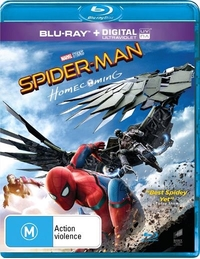 Spider-Man: Homecoming on Blu-ray, UV image