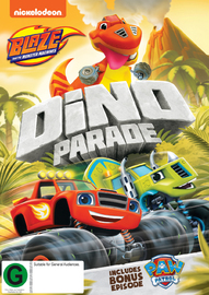 Blaze & the Monster Machines: Dino Parade on DVD