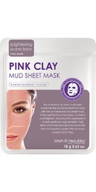 The Skin Republic: Pink Clay Mud Sheet Mask