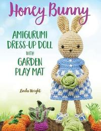 Honey Bunny Amigurumi Dress-Up Doll with Garden Play Mat by Linda Wright image