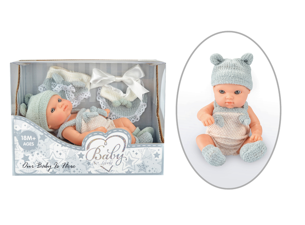 Baby So Lovely: Newborn Baby with Accessories - Boy