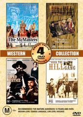 Western Collection - Volume Two - 4 Movie Box Set (2 Discs) on DVD