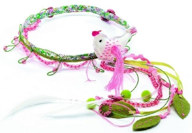 Djeco: Bird of Paradise Hair Jewels