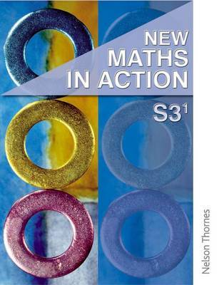 New Maths in Action S3/1 Student Book by Harvey Douglas Brown image
