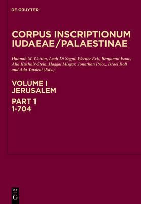 Jerusalem, Part 1: 1-704