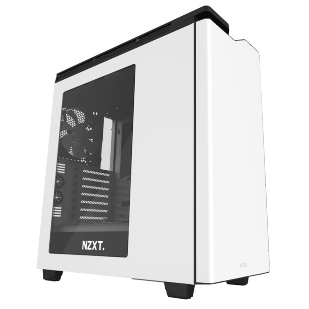 NZXT H440 Mid Tower Case 2015 Edition - White