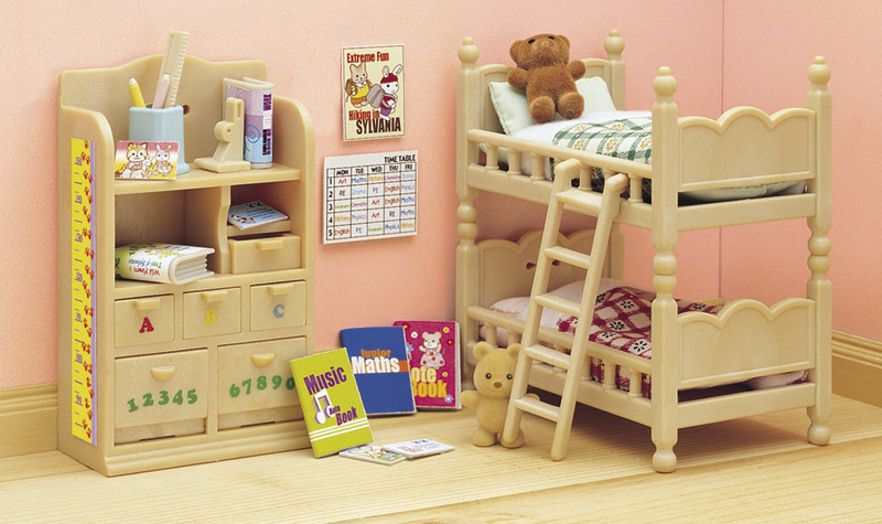 Sylvanian Families Childrens Bedroom Set Toy at Mighty Ape NZ